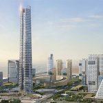 KONE toimittaa hissejä ja liukuportaita Afrikan korkeimpaan rakennukseen Iconic Toweriin Egyptin uudessa hallinnollisessa pääkaupungissa